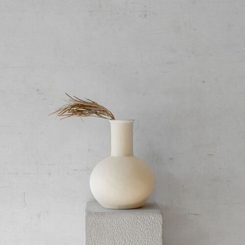 Flora Vessel | Cream Large