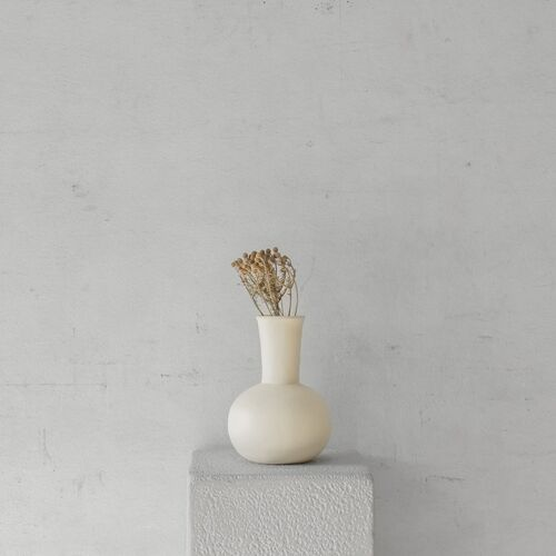 Flora Vessel | Cream Small